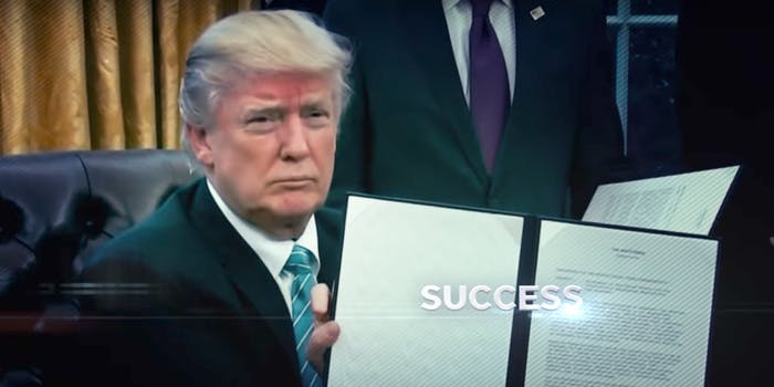 Donald Trump 2020 Campaign Ad on First 100 Days