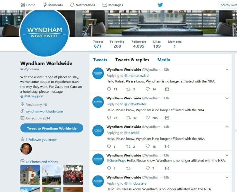 Wyndham hotels NRA