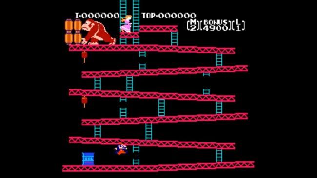 nes games: Donkey Kong