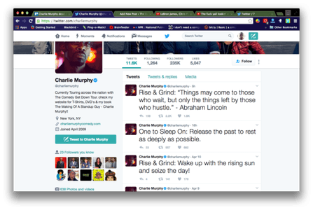 Screengrab via Charlie Murphy/Twitter