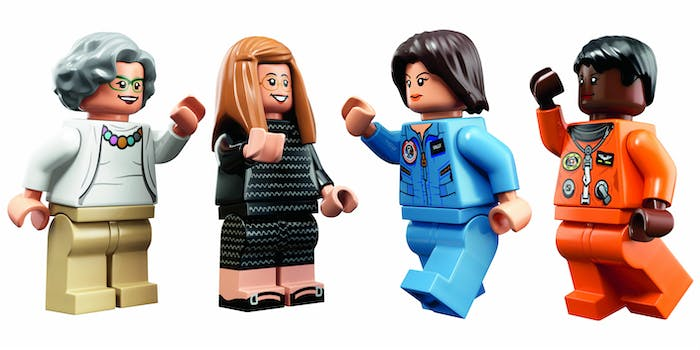 lego for girls : Four pioneering women of NASA are showcased in the new Women of NASA Lego set