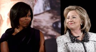Michelle Obama and Hillary Clinton xhamster