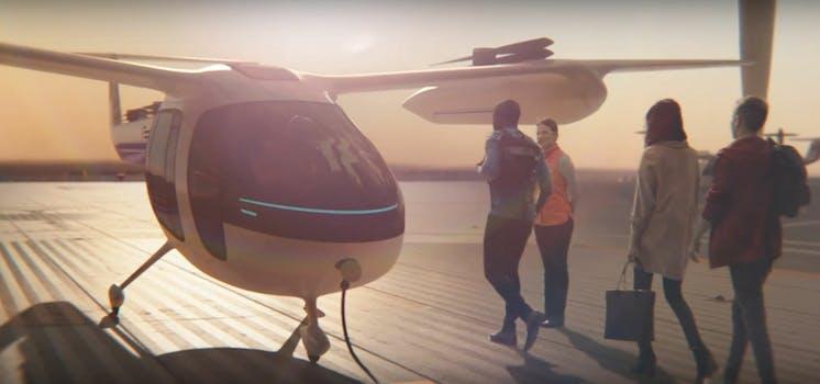 uberair uber elevate flying cars