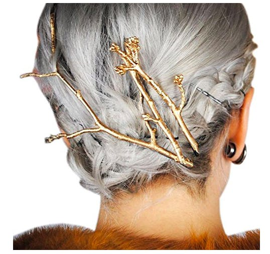tree branch hair clips