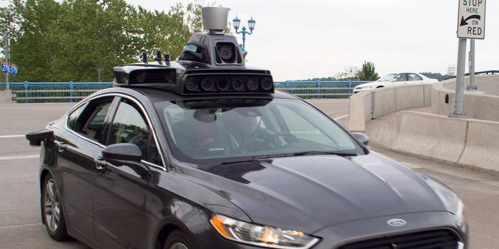 Uber self driving car