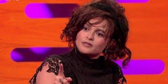 Helena Bonham Carter on the 'Graham Norton Show'