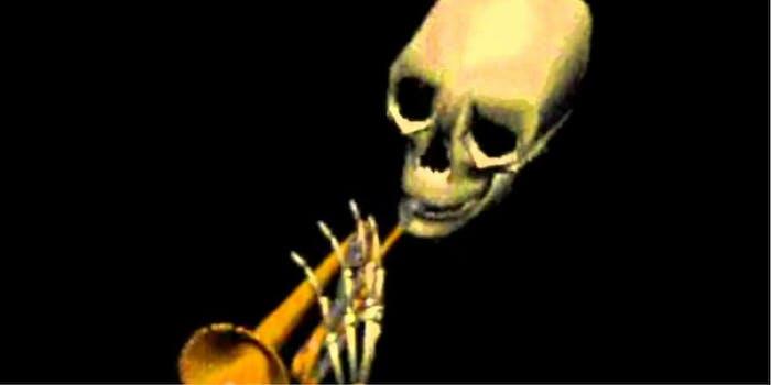 mr skeltal doot doot spooky skeleton meme