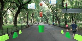 Super Mario Bros. augmented reality
