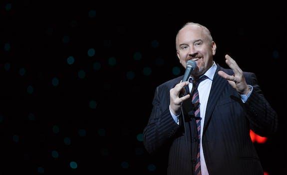 best stand up comedians on netflix : Louis C.K.