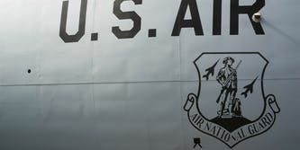 national guard airplane
