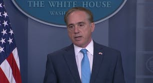 The chief of staff forVeteran Affairs Secretary David Shulkin altered an email in order to cover expenses for his wife to travel to Europe last summer, according to reports.