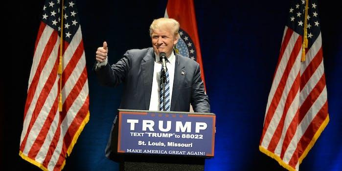 president donald trump - cyber command
