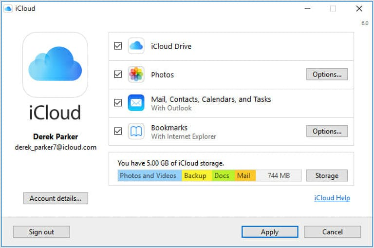 How to set up iCloud on Windows