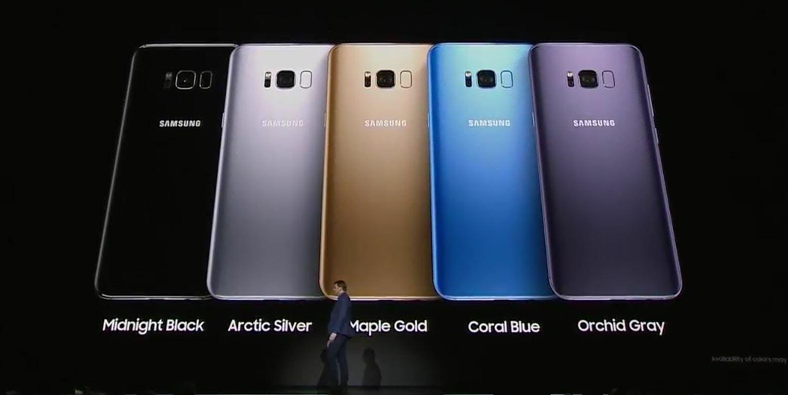 samsung galaxy colors