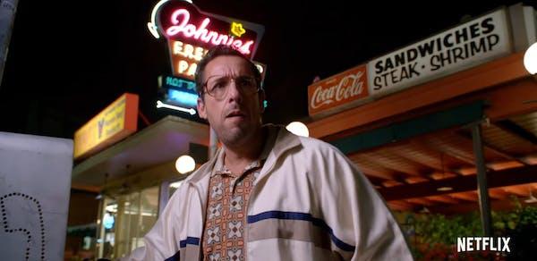 adam sandler netflix original movie : Sandy Wexler
