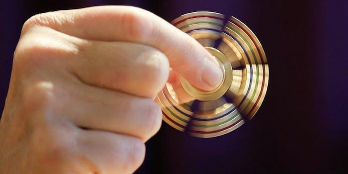 fidget spinner map