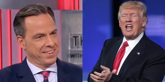 Jake Tapper trolled Donald Trump hard after his sexist Morning Joe tweets