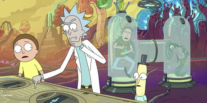 mr. poopy butthole rick and morty