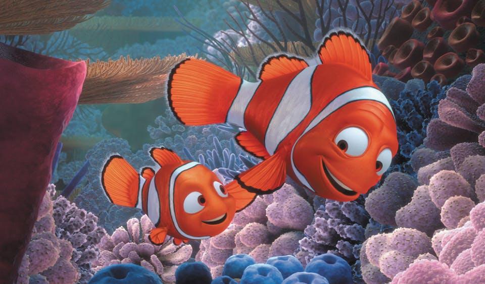 pixar company : finding nemo