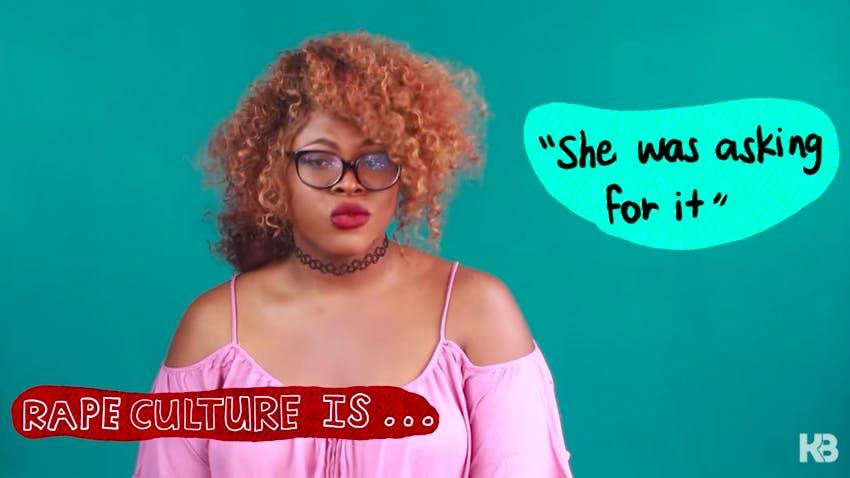 what is rape culture : kat blaque