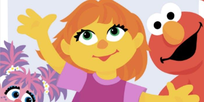 Julia Sesame Street autistic