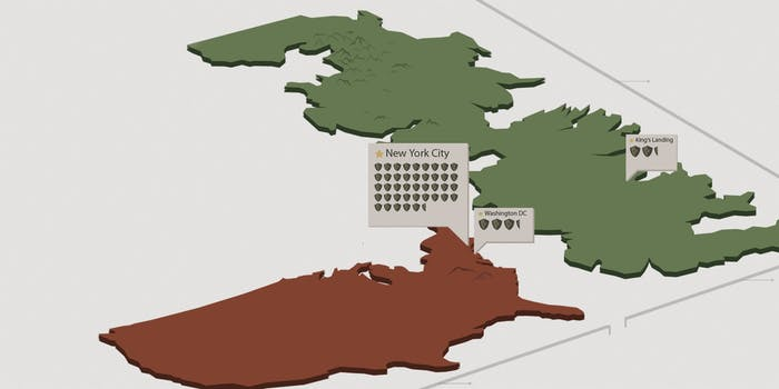 game of thrones - how big is westeros