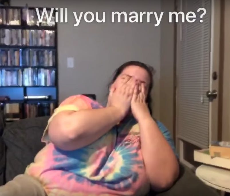 will you marry me heads up