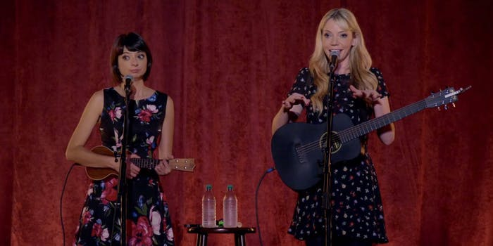 best stand up on netflix : garfunkel and oates vimeo special