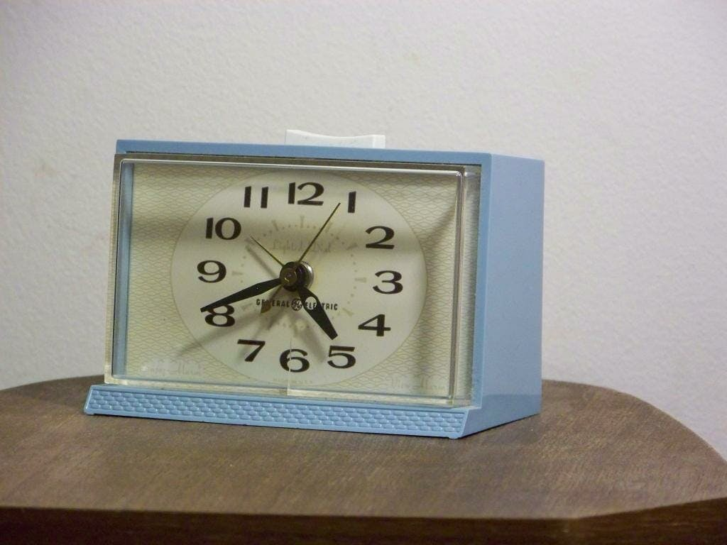 how to unplug from the internet : get an alarm clock