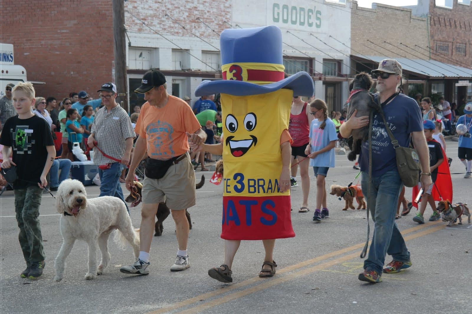 Pet Parade procession.