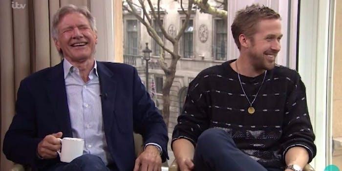 Harrison Ford Ryan Gosling Blade Runner 2049