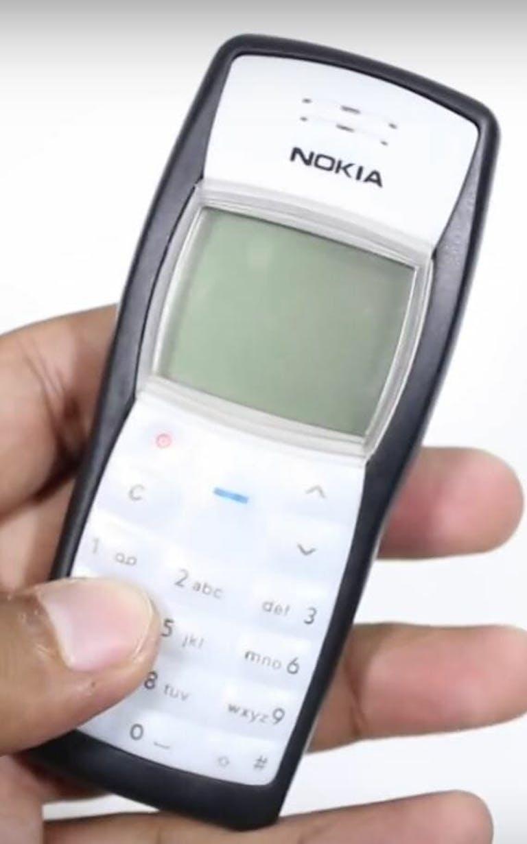 Nokia 1100 brick phone