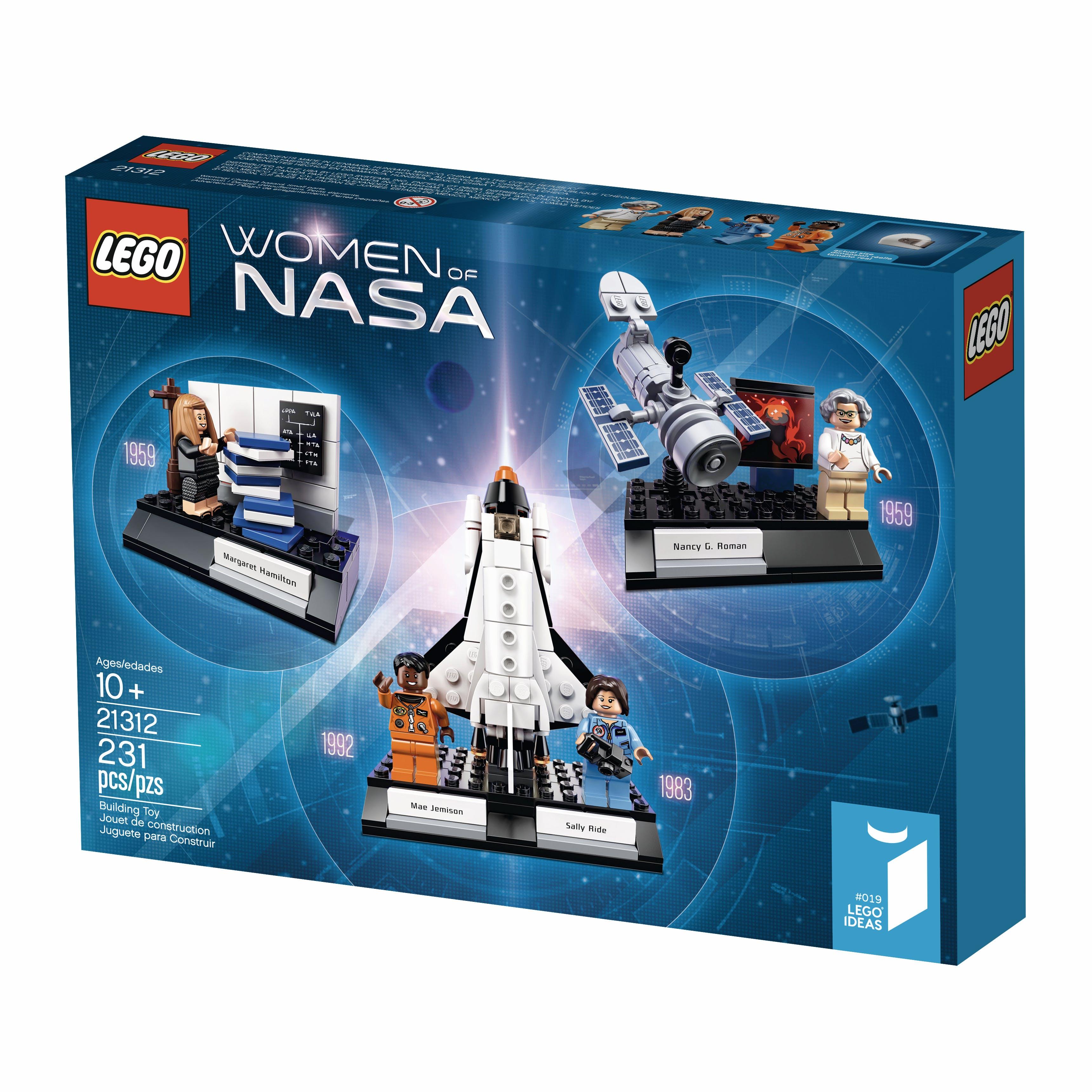 Box cover Women of NASA Lego