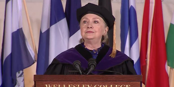 Hillary Clinton Wellesley