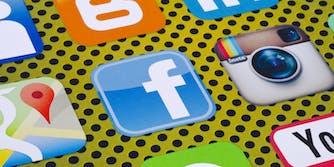 Facebook Instagram Icons