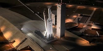 spacex falcon heavy launch video