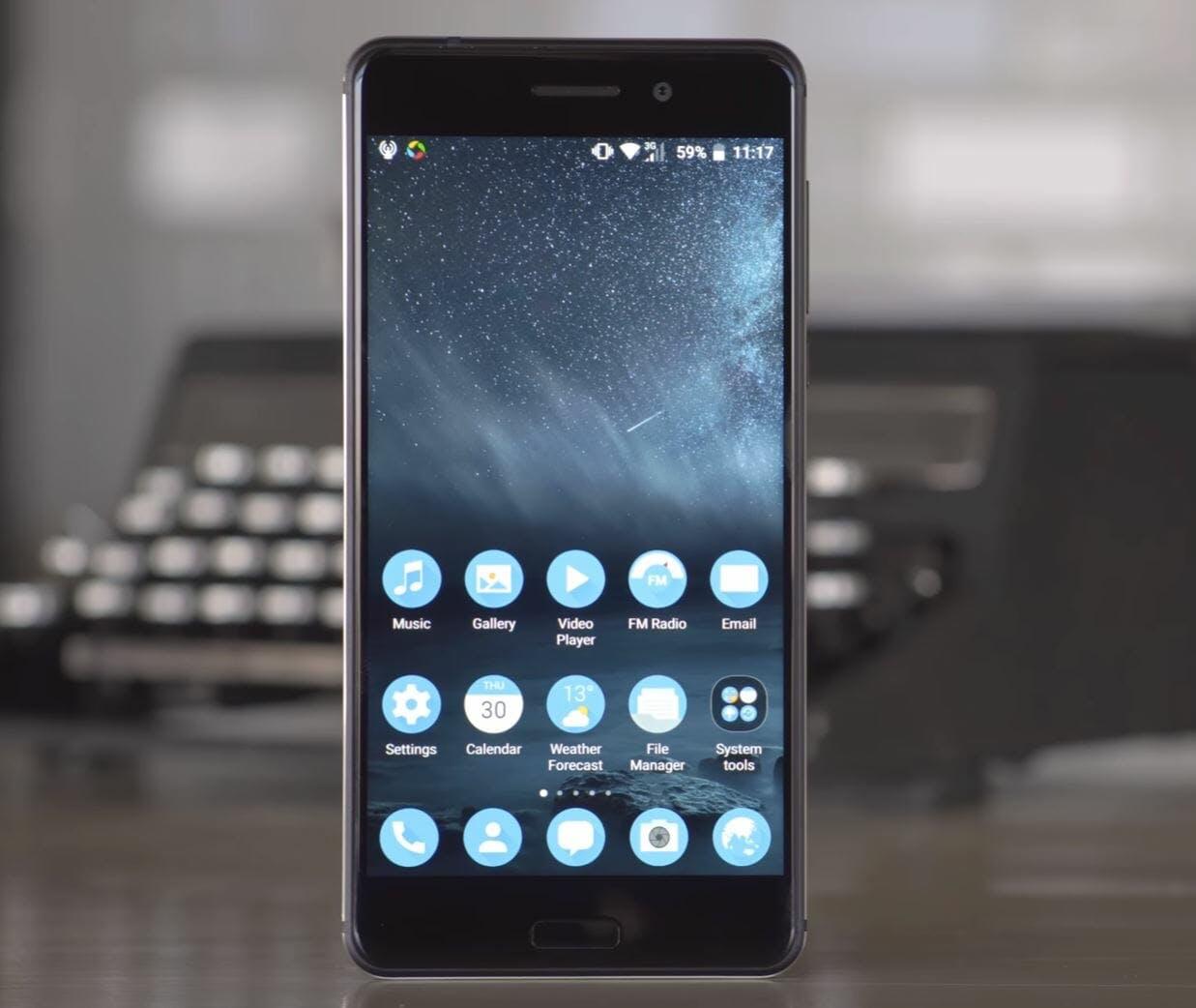 best android phones - nokia 6 smartphone