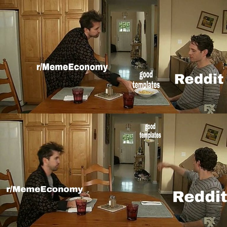 memeeconomy always sunny meme