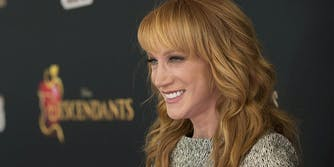 Kathy Griffin at Descendants event
