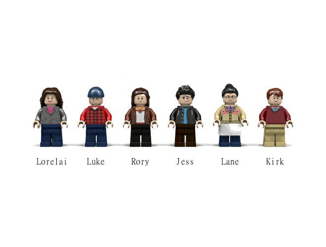 Gilmore Girls Lego