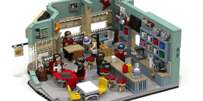 Luke's Diner lego