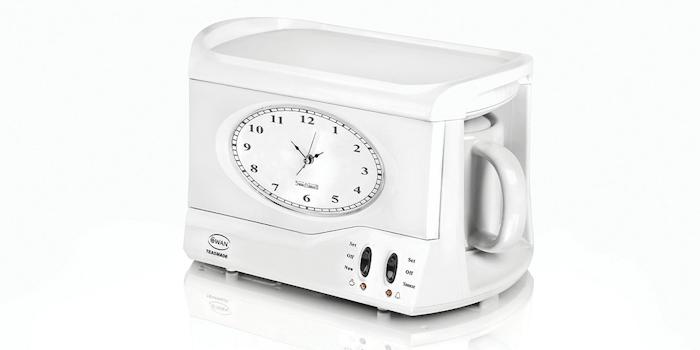 Swan teasmade and alarm clock