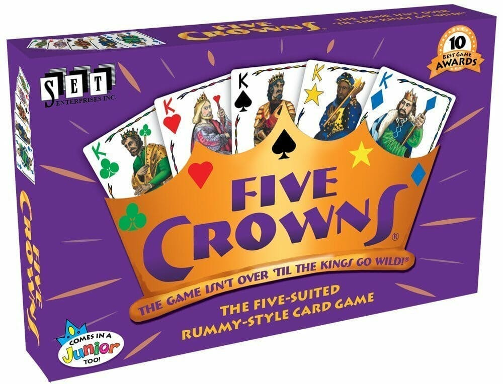 best board games for groups : five crowns