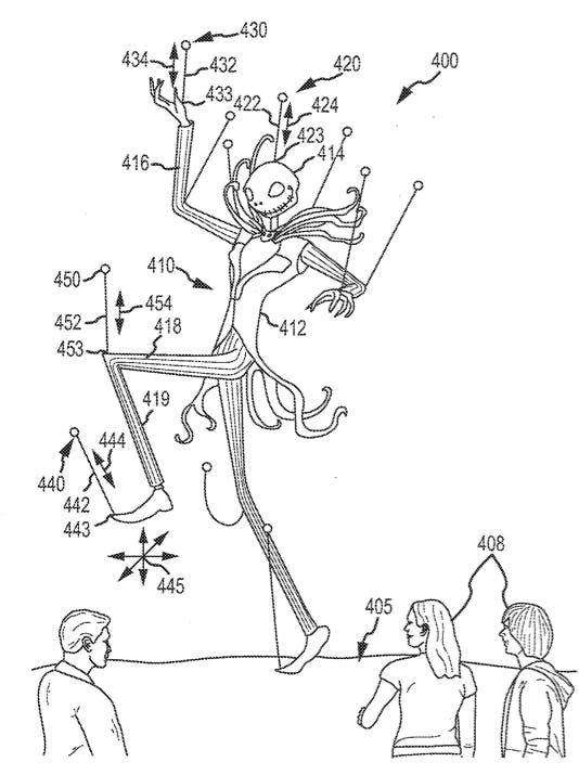 Disney drone patent application image