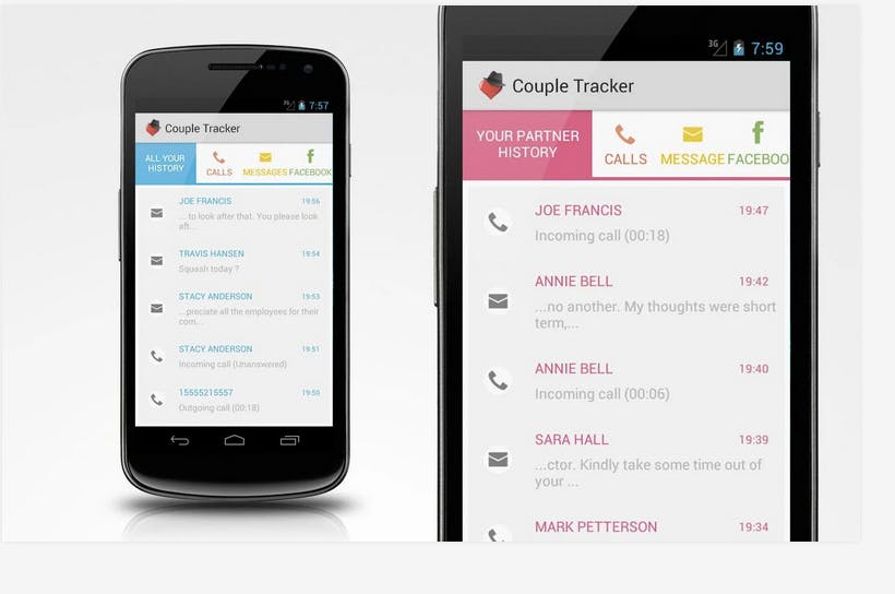 spy apps : Couple Tracker