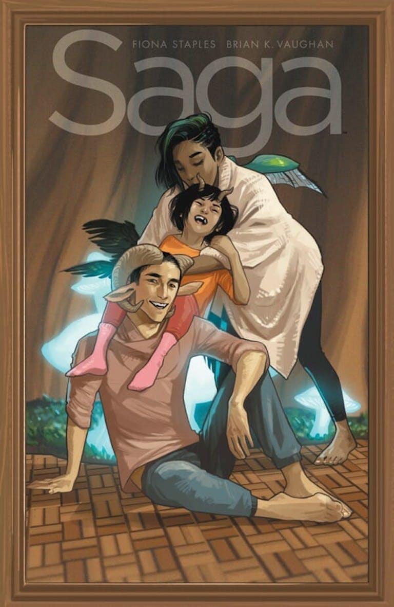 comic books for adults : Saga
