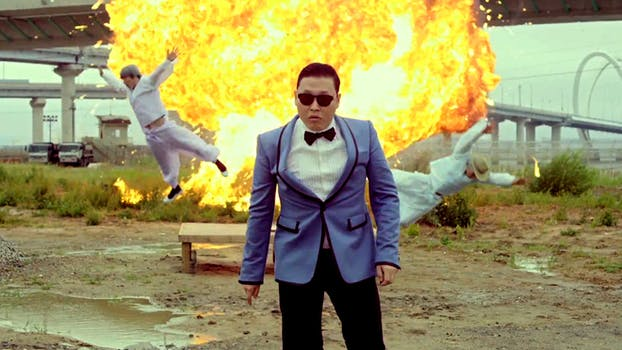 most-viewed youtube video of all time: Psy 'Gangnam Style'