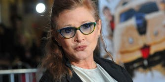 carrie fisher oscars