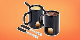 personal fondue mugs