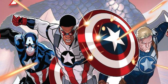 Captain America standoff
